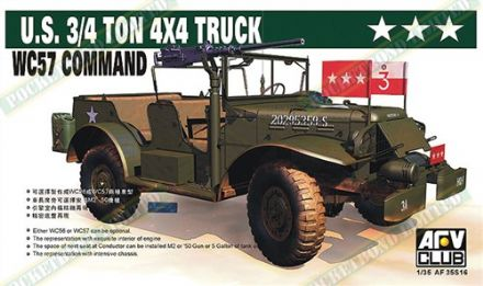 AF35S16 B WC57 Command Car SCALE 1:35